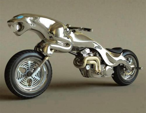 in-creible:  Moto jaguar. Jaguar bike.
