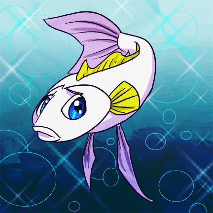 Gray as a fish. shes a fiiiiiish I really like drawing fish I should draw more