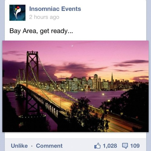 #insomniac #insomniacevents #bayarea are you ready? Hell yeah!!! #rave #plur #kandi #party #dance #sf #edc #bigcupofjoe #love   (Taken with Instagram)
