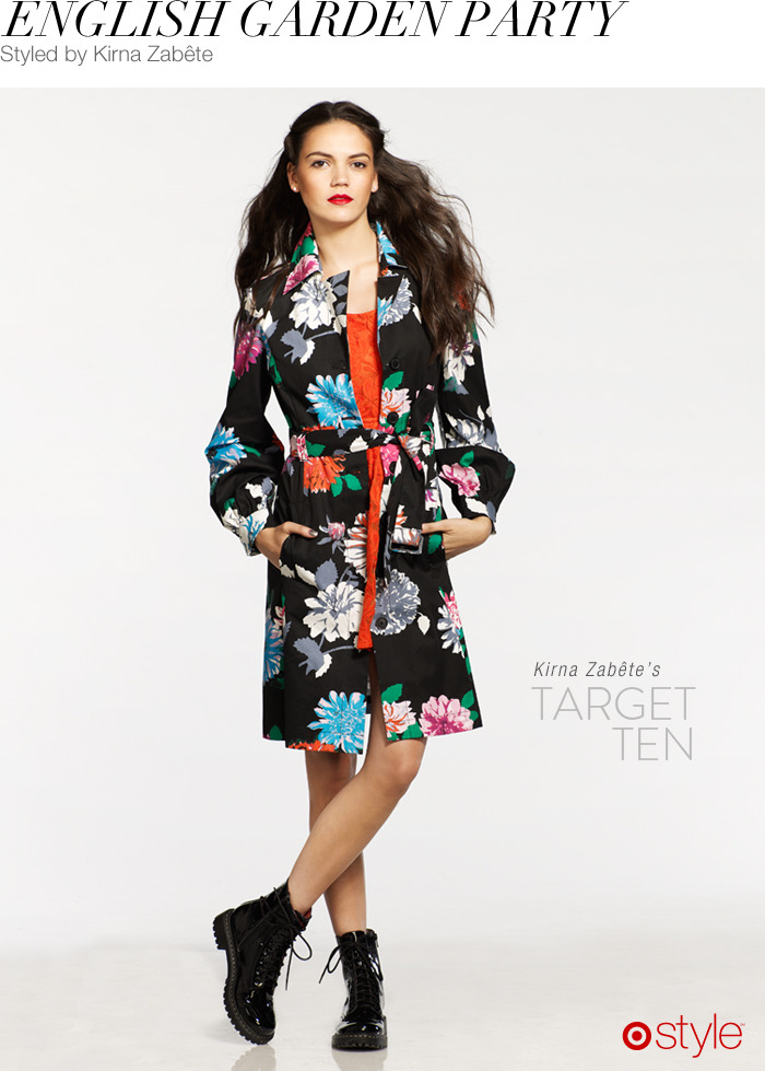 Kirna Zabête's Target 10: English Garden Party own it now: shop outfit in store.