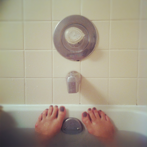 #Feet, #grey #moody #bathwater
