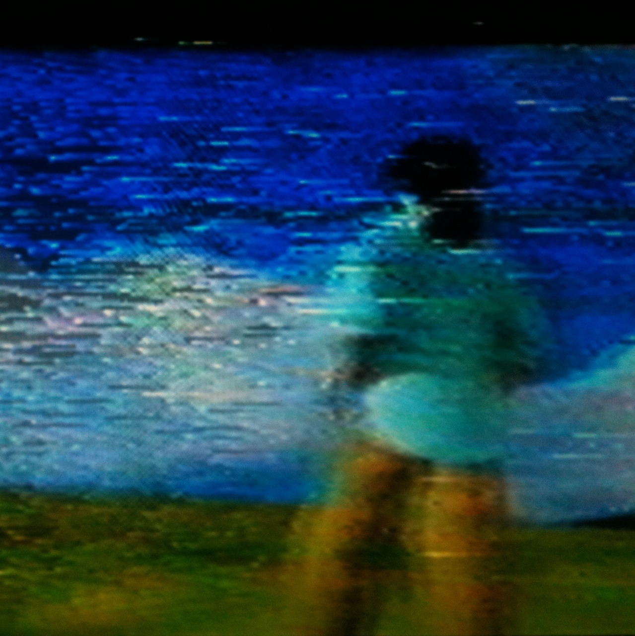 Laguna at the end of FInal Fantasy VIII. Captured on VHS.