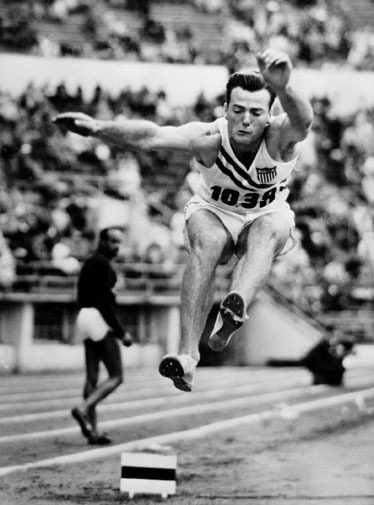 This Day In Olympic History: August 6, 1948 - American Bob Mathias, 17, became the youngest men's gold medalist in the history of Olympic track and field by winning the decathlon at the Summer Olympics in London.  keepinitrealsports.tumblr.com  pinterest.com/mysterkeepinit  keepinitrealsports.wordpress.com  facebook.com/pages/KeepinitRealSports/250933458354216  Mobile- m.keepinitrealsports.com
