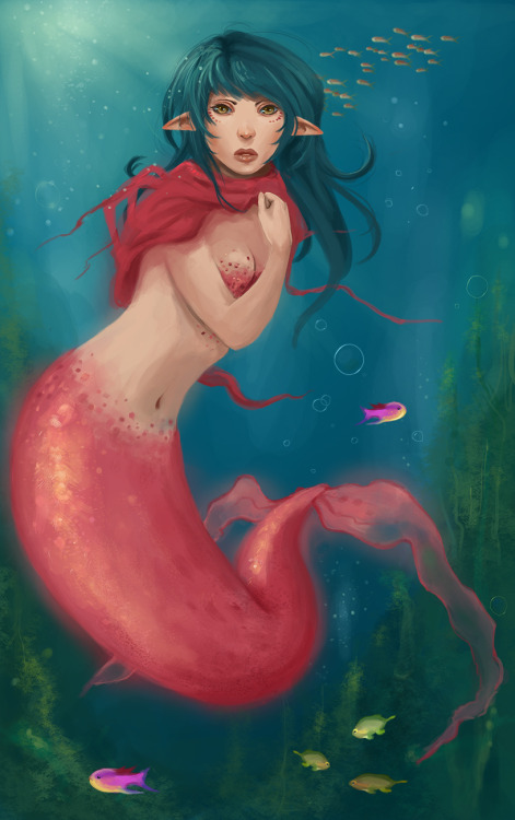 Bubbly by ~GummyInABox —-x—- More: | Mermaids | Random |