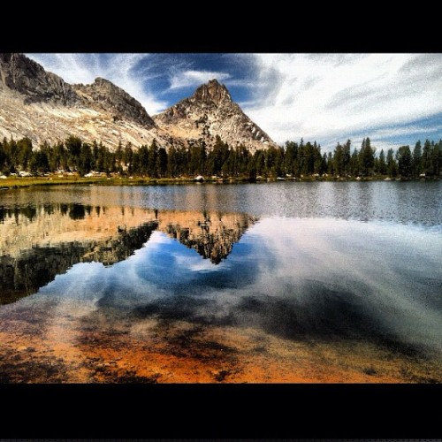 Miss it already. #yosemite #younglakes #lake #backpacking #manshit  (Taken with Instagram at Young Lakes)