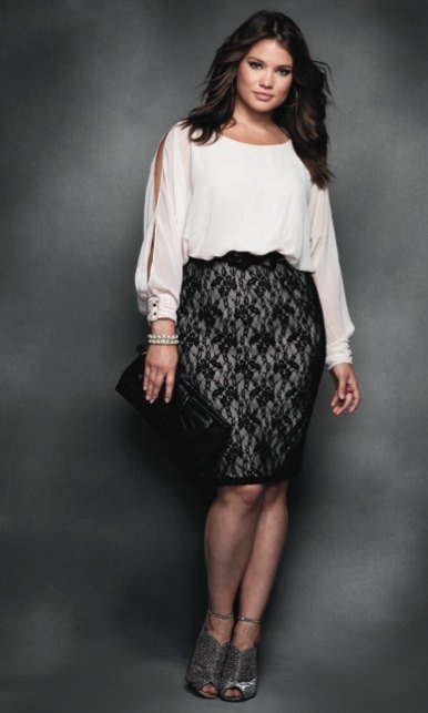MODEL WE LOVE: Tara Lynn Eloquii 2012 Holiday Collection