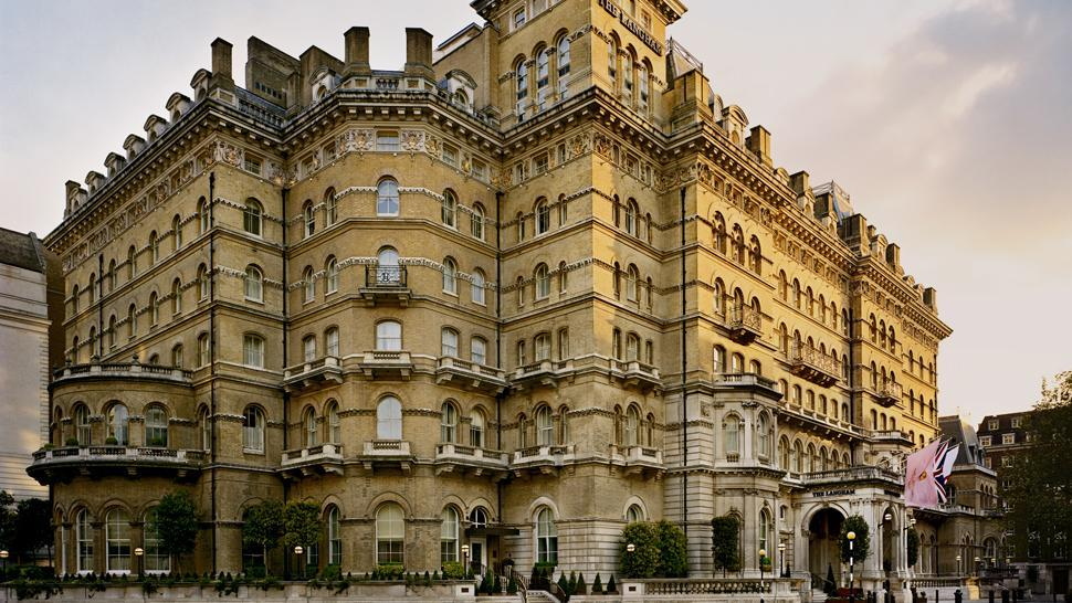 The five star Langham Hotel, London, UK