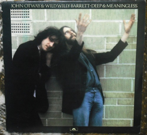John Otway & Wild Willy Barrett - Deep & Meaningless.  Contains a song with one of my favorite titles of all time:  Beware Of The Flowers ('Cos I'm Sure They're Going To Get You Yeah).  Otway always manages to make me smile.