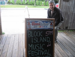Glenn performs at one of our favorite events, the Block Island Music Festival!  Great people, good music, a beautiful setting, and just a damn good time. (June 2012)