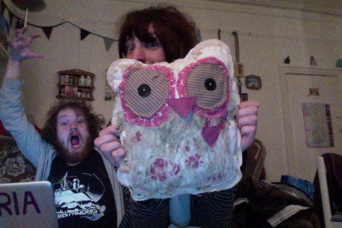 Just finished another owl =]