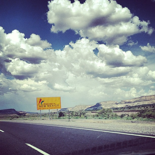 New Mexico! 3 states left! (Taken with Instagram)