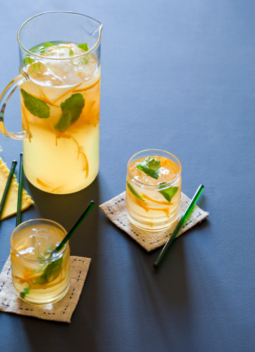 Orange Mint Lemonade