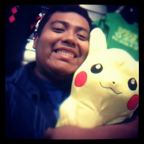 PIKACHU :D  #AugustChallenge #Pokemon #Pikachu  (Taken with Instagram)