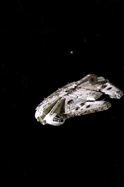 star wars spaceship millenium falcon