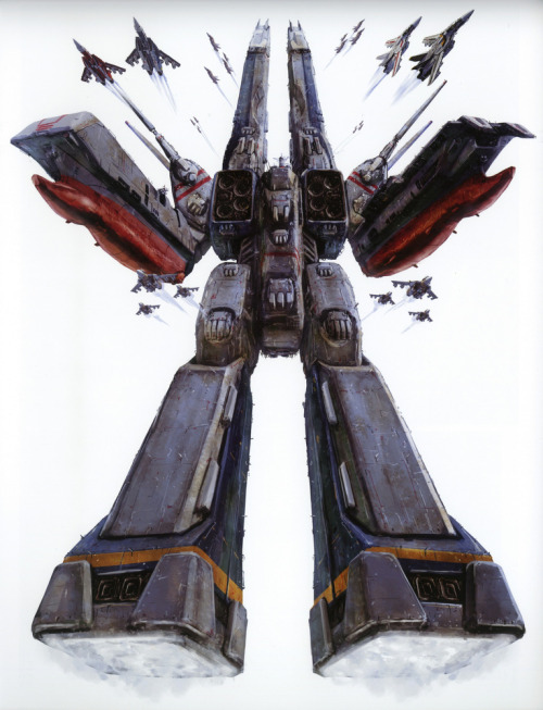 fuckyeahmacross:  The SDF-1 looking majestic