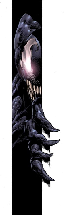 mikedeodatojr:  Venom. Colors by Rain.