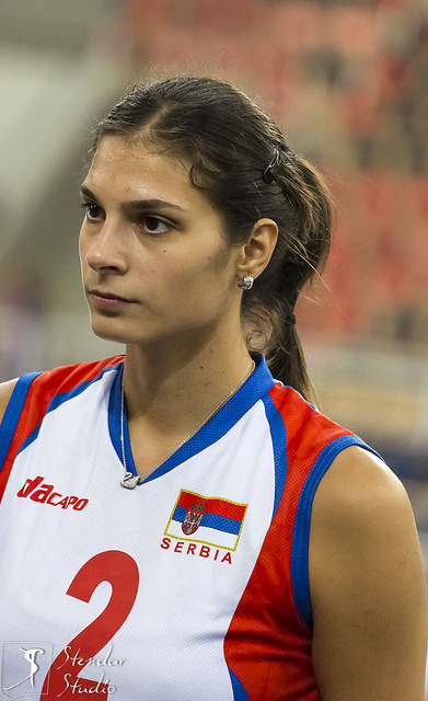 Jovana Brakocevic (SRB) by stendar on Flickr.