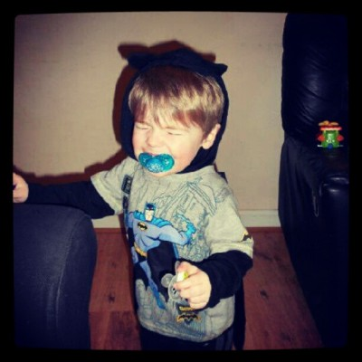 #batman #batbaby #son (Taken with Instagram)