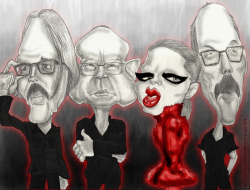 CARICATURE OF THE GREATEST BAND IN THE WORLD!