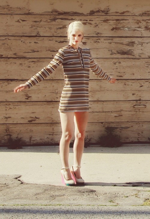 SOUL DRESS (1960s)Available Now from They Roared VintagePhoto by Jordan Chesney | Model: Nicole Seyle VIDEO: https://vimeo.com/46078697