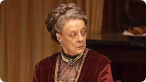 "farcurve:  Dowager Countess of Grantham: ""What is a weekend?"""