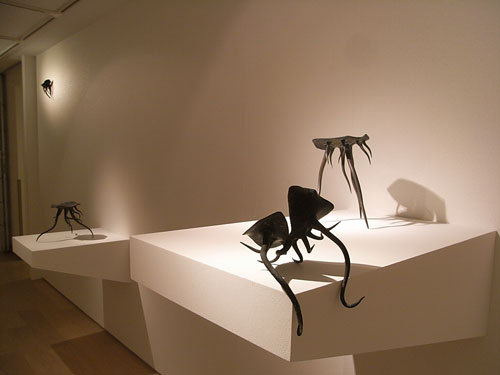 staceythinx:  These stools by Kunikata Yoshihiro aren't for sitting still.