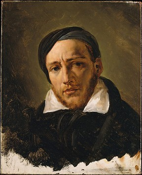 Jean-Louis-André-Théodore Gericault (1791–1824) Horace Vernet (French, Paris 1789–1863 Paris) Date: probably 1822 or 1823