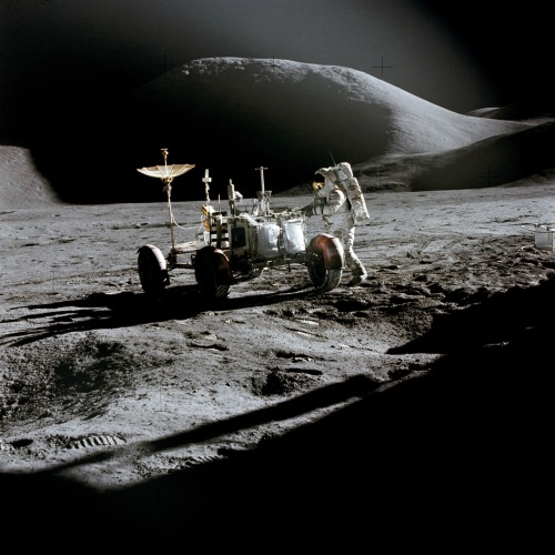 bureauoftrade:  Apollo 15 Mission (1971), filmed at Paramount Studios backlot. Conspiratorially theoretical at Bureau of Trade