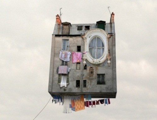 Laurent Chehere ¨Flying Houses