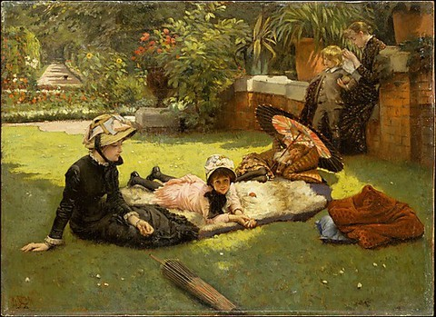 En plein soleil James Tissot (French, Nantes 1836–1902 Chenecey-Buillon) Date: ca. 1881