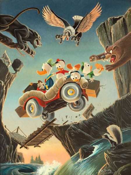 """Vacation Time"" by Carl Barks"