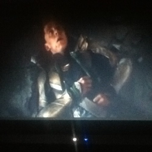 Finally watching the Avengers by myself  ❤ #avengers #loki #punygod #awesomeness (Taken with Instagram)