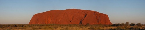 Panoramic view of Uluru, by John Proctor via Creative Commons from: Top 5 Australia Ecotourism Destinations