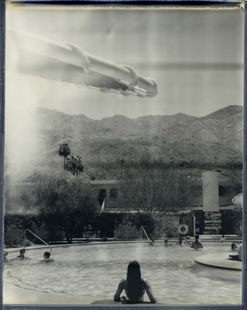 Impossible Project 8x10 Tests: palm springs.