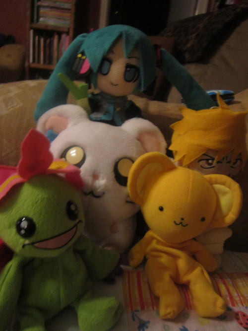 My anime Plushies <3