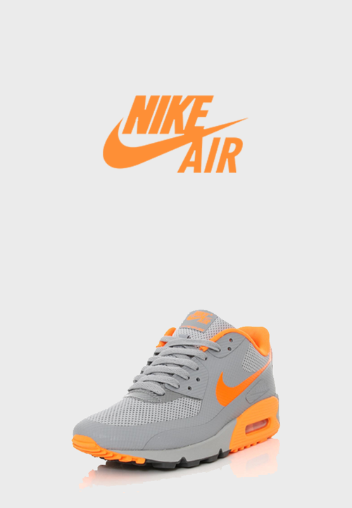 "biwwy:  Nike Air Max 90 Hyperfuse Premium Stealth/Tonal Orange   OMG, beautiful. Maybe with ""tonal"" green or blue <3"