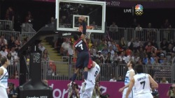 August 6, 2012 - 2012 London Olympics - USA vs. Argentina - Russell Westbrook Dunks On Some Guy http://www.sendspace.com/file/53vz74