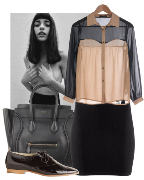 Untitled #659 by adelinasgray featuring black handbags
