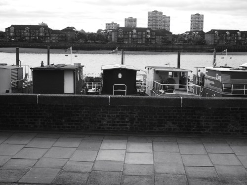 Boats on the Thames, photo by me