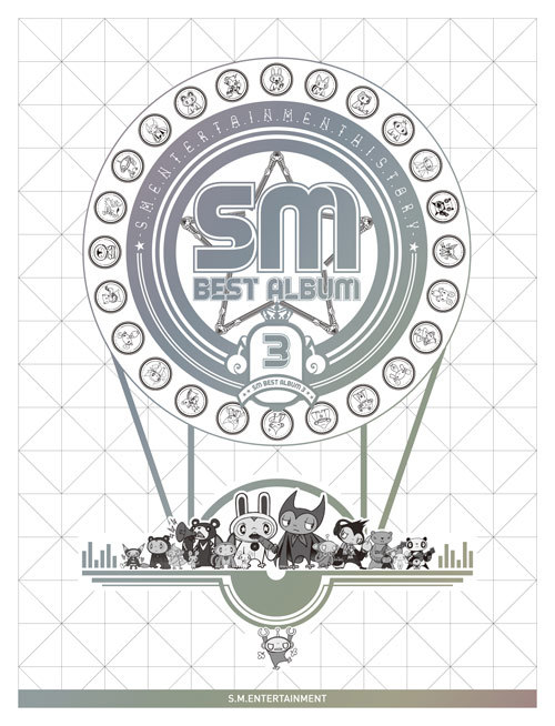 SM will realease 'SM Best Album' on August 10, consists of 89 songs (6CD) from SM's hit album which realeased 2001 - 2012 (cr: GIAIH)