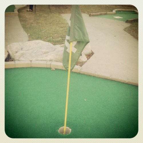 How mom's office does a golf tournament (Taken with Instagram)