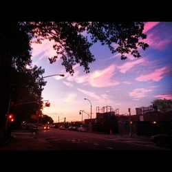 Another Brooklyn sunset. #brooklyn #sunset #beautiful #pretty  (Taken with Instagram)