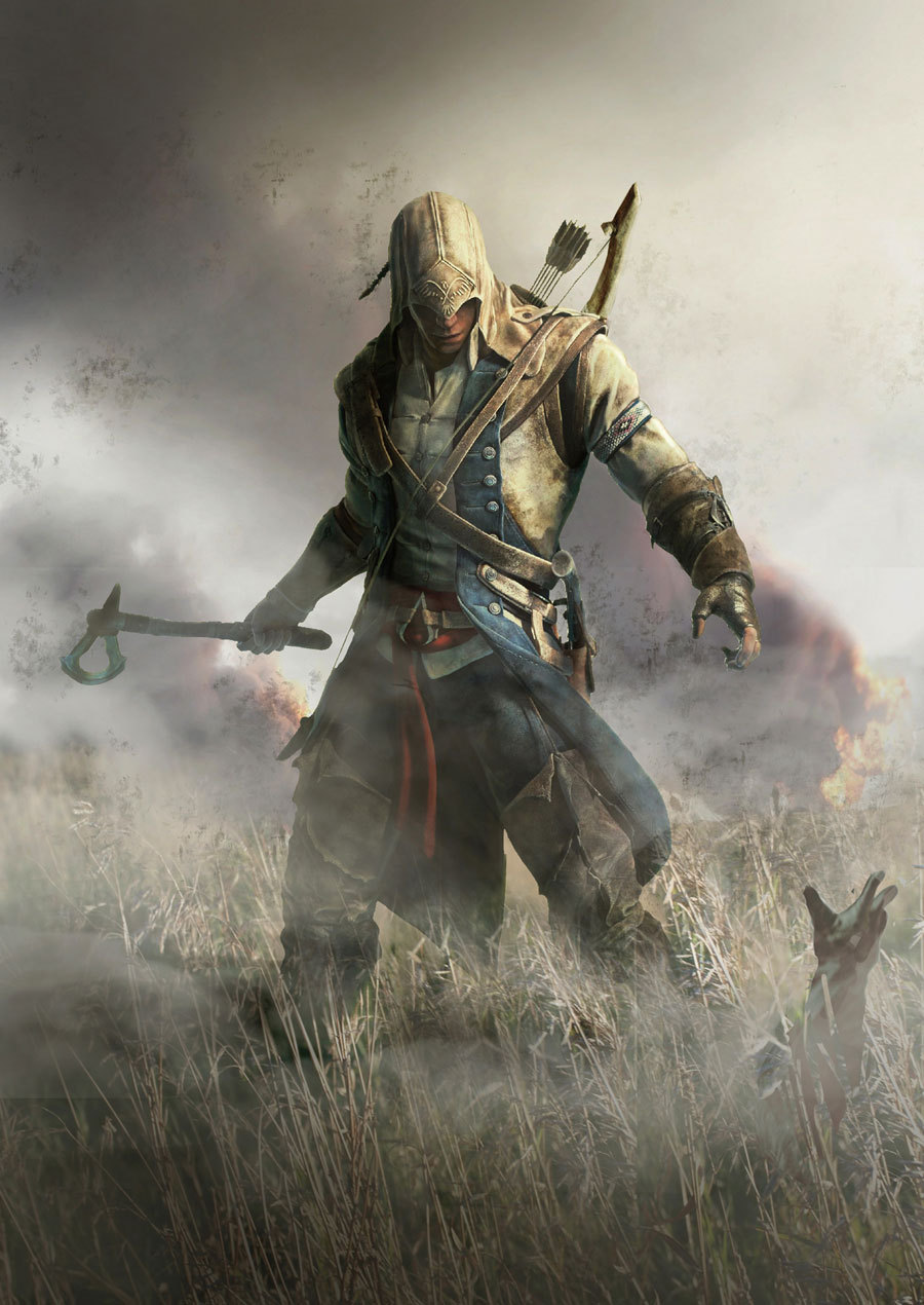 game-art:  Connor, Poster | Assassin's Creed III