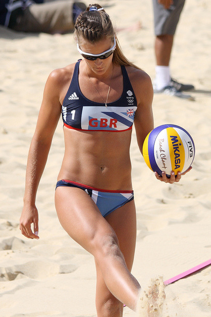 London 2012: Beach Volleyball by mike bagwell on Flickr.