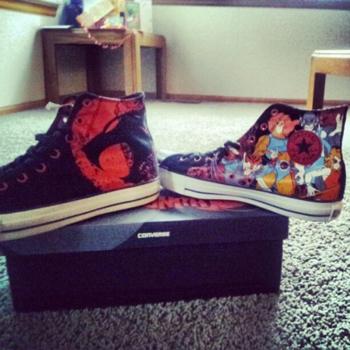 My thundercat converse #converse #thundercats #shoes #hooo #cats #life  (Taken with Instagram)
