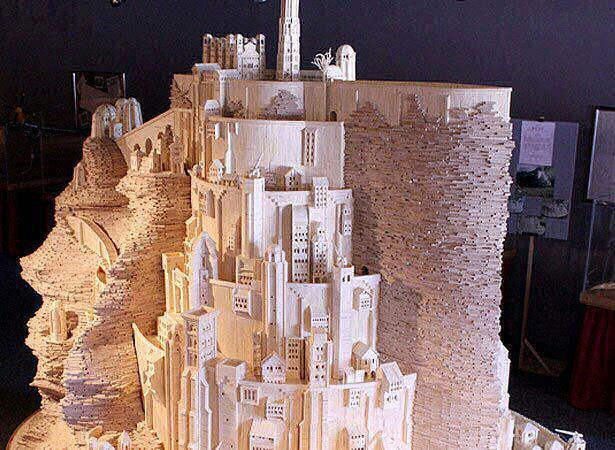 Matchstick castle!  WOW!!