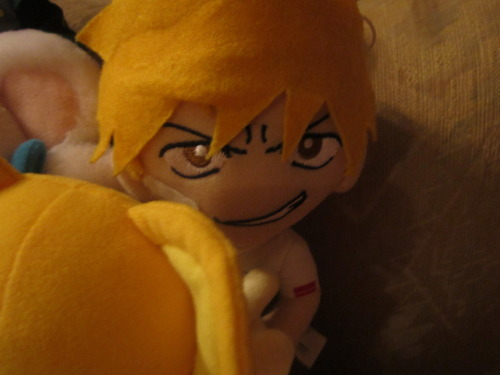 Along with the Kero plush I got this Ichigo plush thats when I was into Bleach.