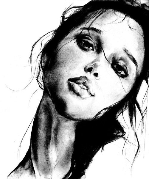 eatsleepdraw:  Charcoal drawing by Dessie Jackson Find more HERE