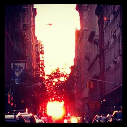Fireball down the street.  (Taken with Instagram)