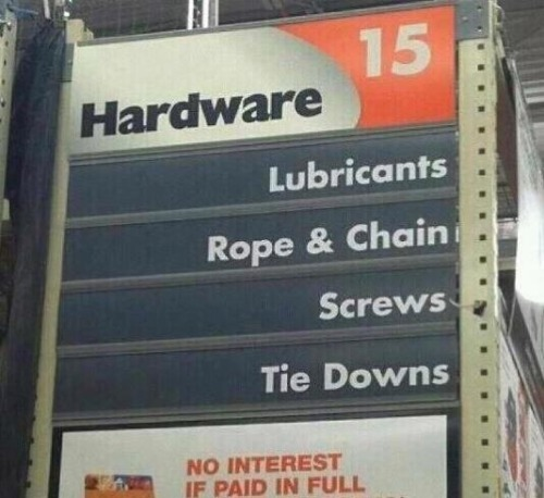 mister-comedy:  party in aisle 15  Hot